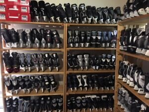 QUALITY USED SKATES - THE LOWER SACKVILLE SKATEMAN IS BACK !
