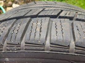 Winter car tyres: Nankang Snow SV-2 235/40 R18 95V XL with rim protectors