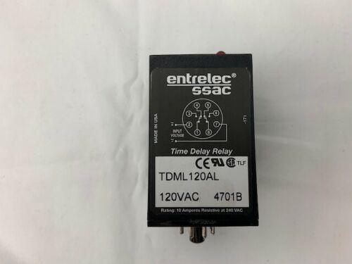 SSAC TDML120AL Time Delay Relay Digi-Set 120VAC