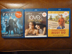 $3 BLUE RAY MOVIES - PRIEST, LOVE & DRUGS, EVERYTHING MUST GO Prince George British Columbia image 1