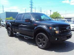 2013 Ford F-150 FX4 4X4 NAV LEATHER SUNROOF LIFT KIT BACK UP CAM