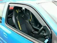 Renault Clio 3 Door Wind Deflectors