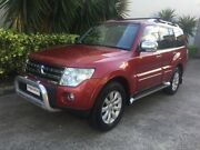 2009 Mitsubishi Pajero NT Exceed LWB (4x4) Red 5 Speed Auto Sports Mode Wagon Bowen Hills Brisbane North East Preview