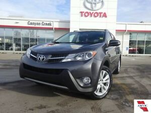 2015 Toyota RAV4 LIMITED TECH/ CLEAN CARFAX/ TOYOTA CERTIFIED/ N