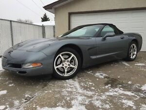 COLLECTOR CAR - MINT LOW KMS C5 CORVETTE CONVERTIBLE 6spd Manual