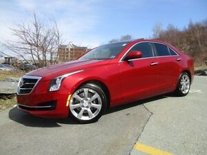 2015 Cadillac ATS ONLY 16000 KMS, LEATHER, MOONROOF, R/CAM, BOSE