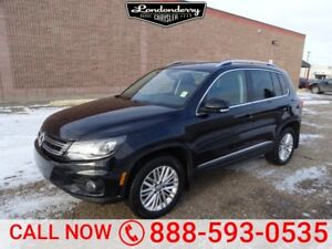2016 Volkswagen Tiguan AWD COMFORTLINE Accident Free,  Leather,