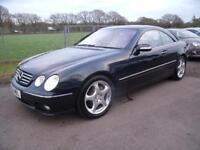 MERCEDES CL CL 500 Black Auto Petrol, 2003