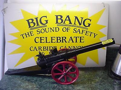 Kyпить NEW IN BOX 15-F BIG BANG BANGSITE CANNON CALCIUM CARBIDE CAST IRON CONESTOGA TOY на еВаy.соm