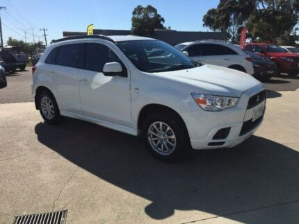 2010 Mitsubishi ASX XA MY11 2WD White 6 Speed Constant Variable Wagon Hoppers Crossing Wyndham Area Preview