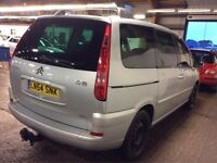 CITROEN C8 DIESEL MANUAL 7 SEATER CHEAP CAR STARTS AND DRIVES TOW BAR NOT ZAFIRA GALAXY SHARAN VERSO
