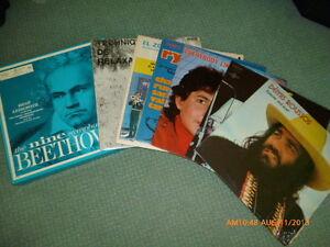 Disques vinyles,33 tours