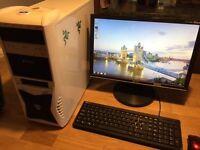 Gaming pc i7 920 ,NVidia GeForce GTX 550 TI .6 GB memory ,