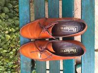 Barker Mens Leather Shoes Size UK 11