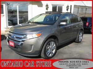 2014 Ford Edge SEL AWD NAVIGATION LEATHER SUNROOF
