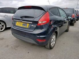 Ford Fiesta MK 8 Tailgate in black with Glass 2008 - 2015 Ring for more info