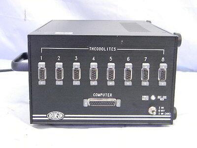Brunson 31100-g1 8-port Theodolite Computer Break-out Controller