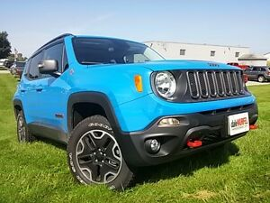 2015 Jeep Renegade Trailhawk | BLACK HEATED LEATHER | NAV | REMO