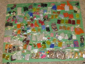1980s vintage friendship bead assortment 177 bags NEW OLD STOCK