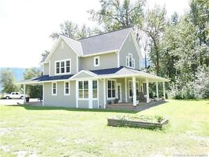 Farm Acreage With Custom Built Home