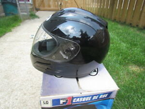 LIKE NEW FULL FACE MOTORCYCLE HELMET