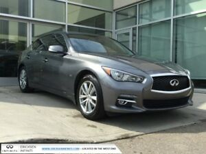 2016 Infiniti Q50 2.0T/AWD/NAVIGATION/SUNROOF/LEATHER/HEATED FRO