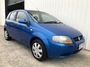 2006 Holden Barina TK MY07 Blue 5 Speed Manual Hatchback Molendinar Gold Coast City Preview