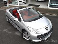 PEUGEOT 207 1.6 GT COUPE CABRIOLET 2d 118 BHP Absolutely Stunn (silver) 2008