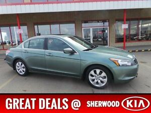 2008 Honda Accord Sdn EXL Leather,  Heated Seats,  Sunroof,  A/C