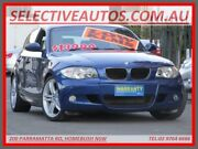 2008 BMW 120i E87 MY07 Upgrade Blue 6 Speed Automatic Hatchback Homebush Strathfield Area Preview