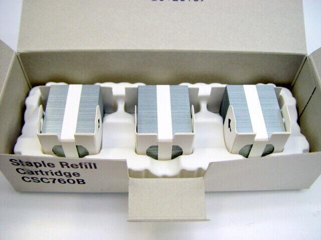 (3 Pack) Ricoh CSC760B Staple Refill Cartridges