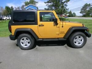2014 Jeep Wrangler Sport 6 spd manual a/c finance $234 bi-weekly