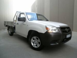2009 Mazda BT-50 UNY0W4 DX 4x2 White 5 Speed Manual Cab Chassis Cheltenham Kingston Area Preview