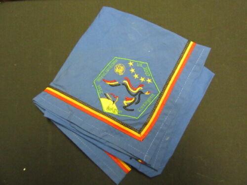 2007 World Jamboree Belgium Contingent Scarf Neckerchief       fx2