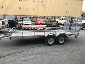 Galvanized Tandem Axle Trailer