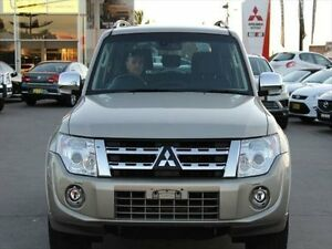 2014 Mitsubishi Pajero NW MY14 Exceed Gold 5 Speed Sports Automatic Wagon Telarah Maitland Area Preview