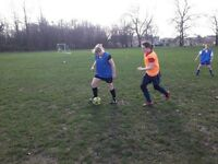 WOMENS BEGINNERS FOOTBALL SESSIONS - LADIES FOOTBALL SOCCER!!!!!! SOCIAL/KEEP FIT/FITNESS/FUN/FUTSA