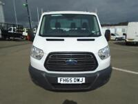 Ford Transit 2.2 Tdci 125Ps Dropside DIESEL MANUAL WHITE (2016)