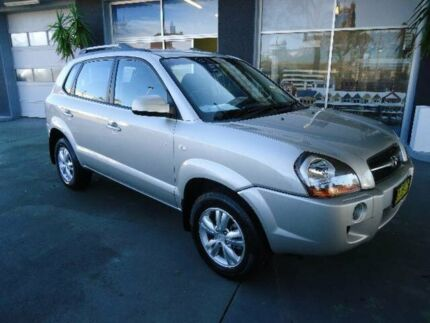 2008 Hyundai Tucson 08 Upgrade City SX Silver 4 Speed Automatic Wagon Hamilton Newcastle Area Preview