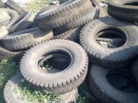 A selection of used car & coach tyres free to collect