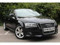 Audi A3 2.0 TDI Sport 5dr **CAM BELT DONE++2 OWNERS** (black) 2009