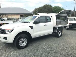 2013 Ford Ranger PX XL 3.2 (4x4) White 6 Speed Manual Super Cab Utility Gloucester Gloucester Area Preview