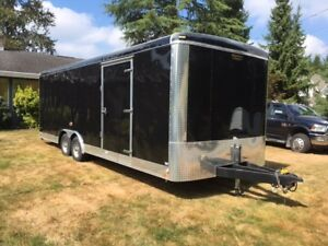 24 foot, CONTINENTAL car hauler,