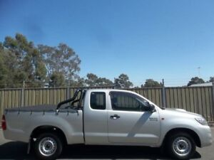 2011 Toyota Hilux KUN16R MY12 SR Silver 5 Speed Manual X Cab Pickup