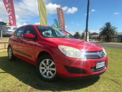 2007 Holden Astra AH MY07 CD Red 4 Speed Automatic Hatchback