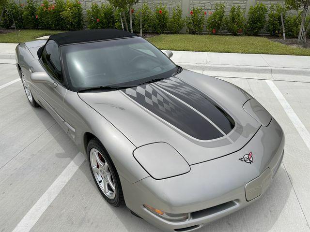 2002 PEWTER MATALIC Chevrolet Corvette Convertible    C5 Corvette Photo 3