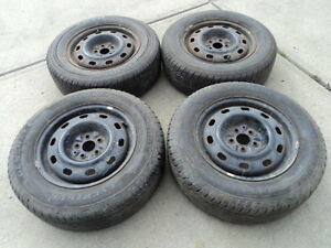 4 Toyo All Season Tires with Rims for 2000-2010 PT Cruiser