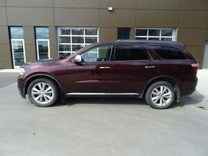 2012 Dodge Durango AWD CREWPLUS Leather,  Heated Seats,  Back-up Edmonton Edmonton Area image 3