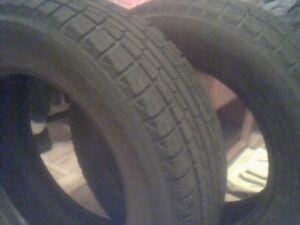 2 pneus d'hiver ICE GARD grandeur 16, a servi 2 saisons