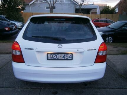 2001 Mazda 323 Astina White 4 Speed Automatic Hatchback